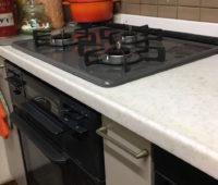 毎日使うキッチンだからガスコンロを入れ替えて機能アップ